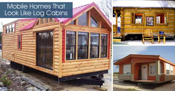 Mobile Homes That Look Like Log Cabins